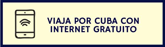 Vacaciones a Cuba con internet