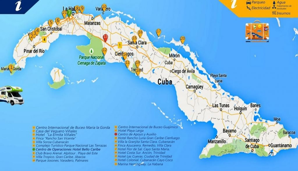 Ontdek Cuba per camper