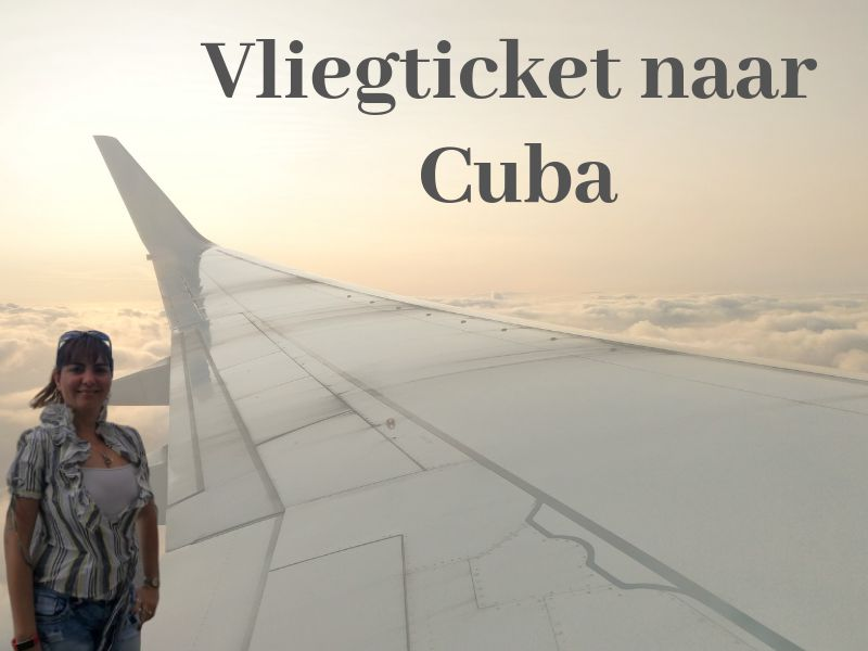 vliegticket naar Cuba cover