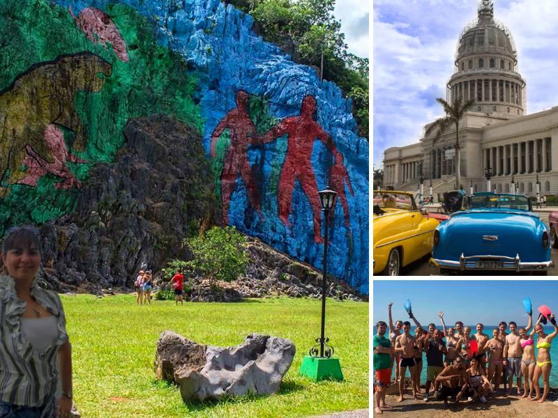 Cuba bezienswaardigheden Mural Vinales