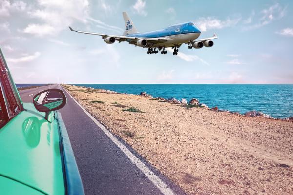 rondreis op maat Cuba KLM plane
