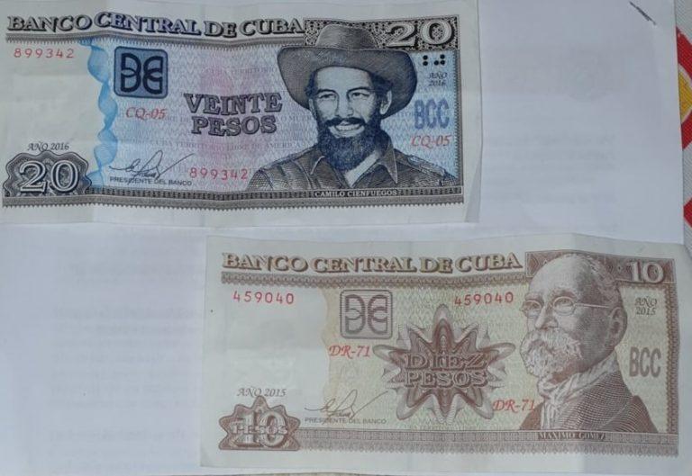 Moneda nacional Cuba