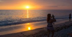 Cuba sites of interest Playa Giron sunset